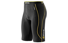 Skins A200 Men&#039;s Compression Half Tights black/yellow